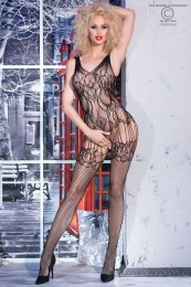 Provokativer Bodystocking schwar...